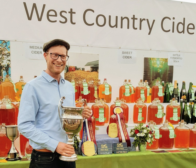 Champion Cider Maker Devon County Show